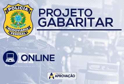 PRF - Projeto Gabaritar - Leg.Trânsito + Língua Portuguesa + Física + Matemática