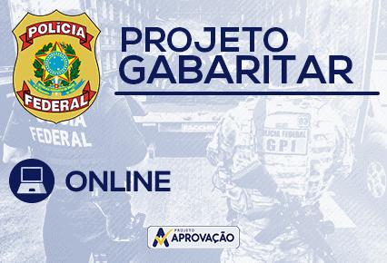 Polícia Federal - Agente - Projeto Gabaritar - Língua Portuguesa +  Estatística + Contabilidade + Informática