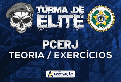 PCERJ- Turma de Elite -Inspetor/ Investigador -  Revisão Teórica + Exercícios