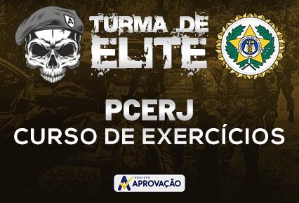 PCERJ - Turma de Elite -Inspetor e Investigador -  Exercícios