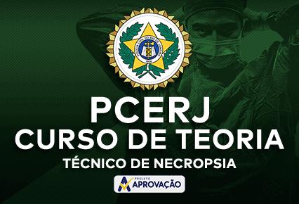 PCERJ -  Curso de Teoria para Técnico de Necropsia